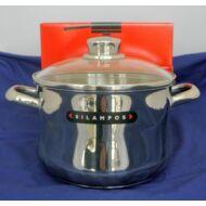 MOLEDO rm. fazék 24cm 6,7l+ü.fedő (indukciós)