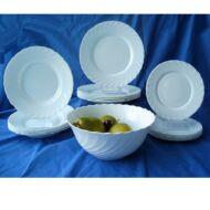 OPÁL/TRIANON étkészlet 19 r. (fehér)-LUMINARC