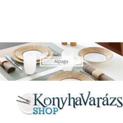 Nordic Alpaga18 részes üveg étkészlet
