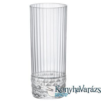 AMERICA '20s trans. LONG DRINK pohár 40 cl. 6 darab
