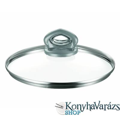 MADAME üvegfedő 24 cm