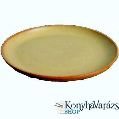 Cserép tányér desszert 19 cm