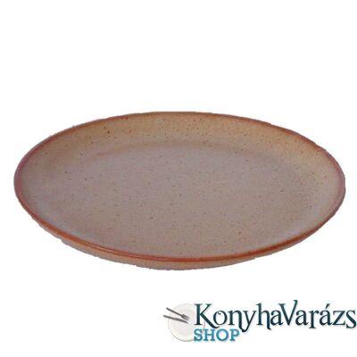Cserép tányér lapos 23 cm