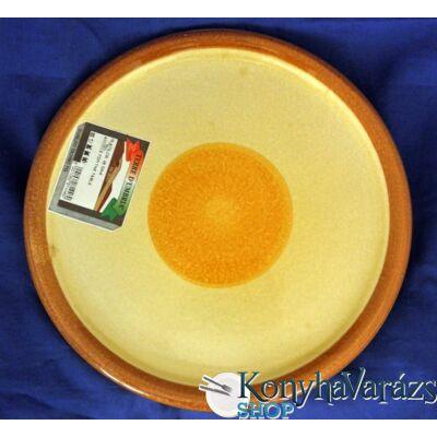 GAIA cserép tányér lapos 23 cm