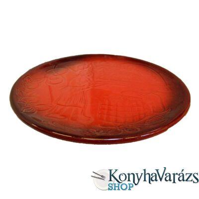 HELIOS cserép tányér lapos 23 cm
