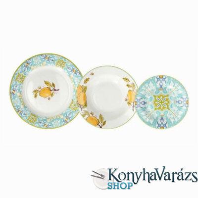 ALICUDI OLIMPIA porcelán étkészlet 18 részes