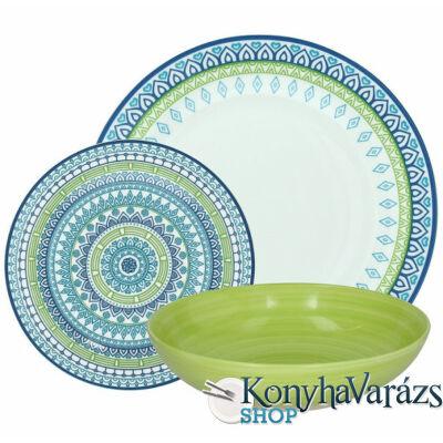 GINGER OLIMPIA porcelán étkészlet 18 részes