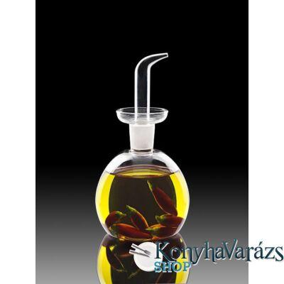 THERMIC GLASS.olajtartó kerek