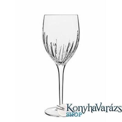 INCANTO kristály  boros pohár 27,5 cl 6db-Luigi Bormioli