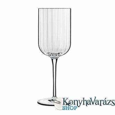 BACH kristály fehérboros pohár 28 cl 4 db-Luigi Bormioli