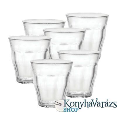 PICARDIE pohár 25 cl 6 darab