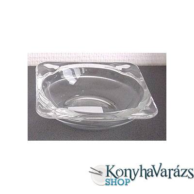 Hamutartó 15,8 cm EMPI /trans,szögletes/