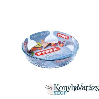 PYREX üveg kerek sütőforma 26x5,8 cm (2,1 L)