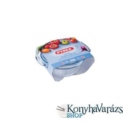 PYREX kerek sütőtál+fedő 1,4 L (1l+0,4l ) /csom/