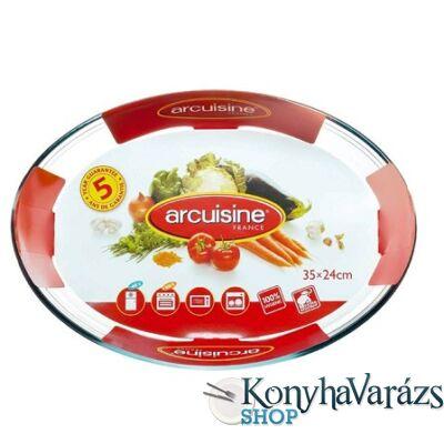 ARCUISINE. ovál sütőtál 35x24 cm 3,3 l