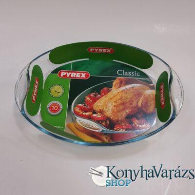 PYREX ovál füles sütőtál 39x27 cm