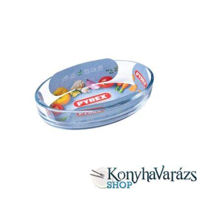 PYREX ovál csuszatál 21x13 cm /0,5l/