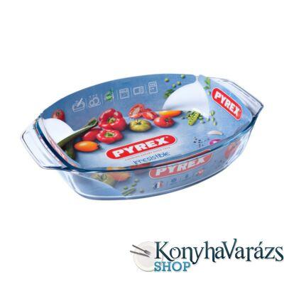 PYREX IRRES ovál sütőtál füles40x28x7cm 4,2l