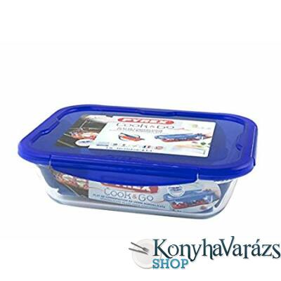 COOK&GO tégl.sütőtál+műa.fedő 30x23x9cm 3,3l