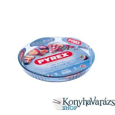 PYREX üveg gyümölcstortaforma 31x3,5 cm (1,8l)