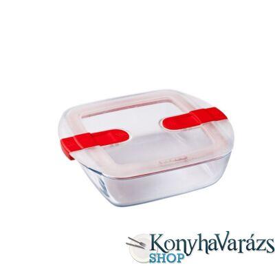 COOK&HEAT tégl. sütőtál+műa.tető 23x15x6cm 1,1l