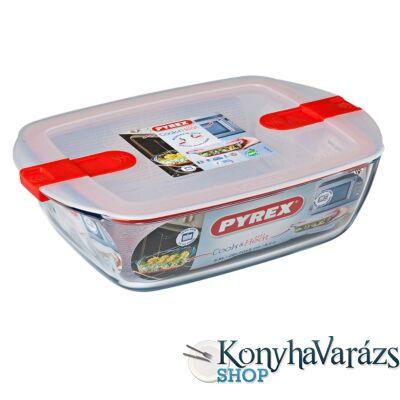 COOK&HEAT tégl. sütőtál+műa.tető 28x20x8 cm 2,5l