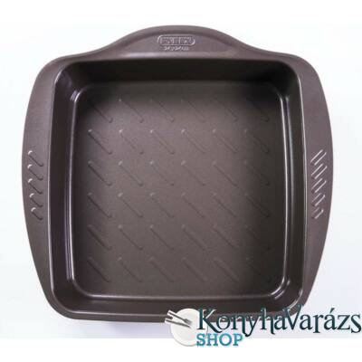 ASIMETRIA bev. tortaforma szögl. csatos 24x24cm