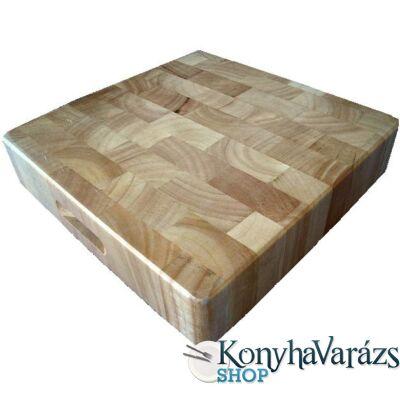 Fa tőkevágó blokk 40x40x6,5 cm