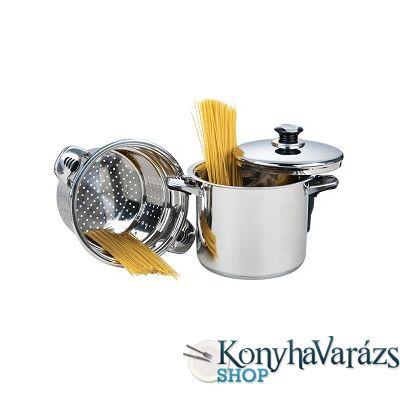 Rozsdamentes spagettifőző 8 literes
