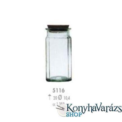 CARAS 12 fűszertartó 20cm 1,25l /zöld/