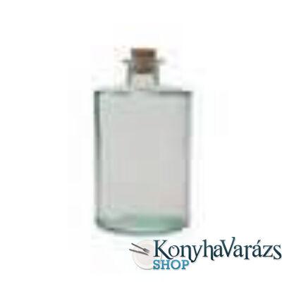 Zöld.üveg 16cm CILIND