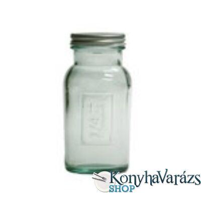 Zöld.tároló üveg 0,25 l