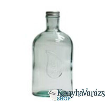 Zöld.tároló üveg 1,4 l