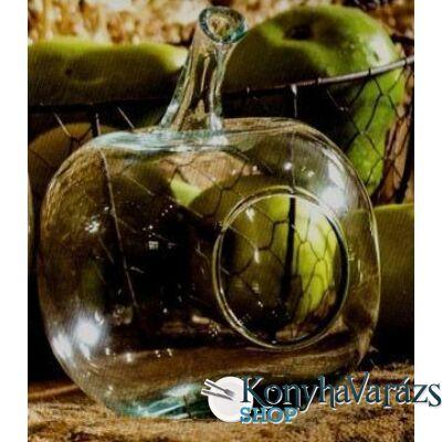 Zöld. üveg 17x14cm ALMA