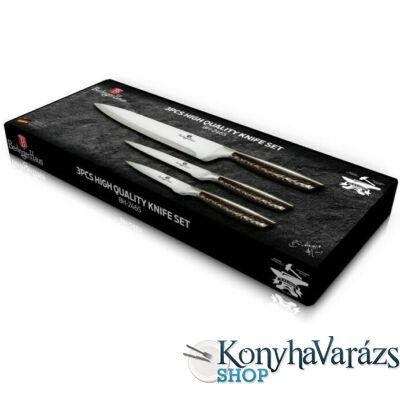 PRIMAL GLOSS bevonatos 3 darabos kés készlet