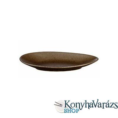 ASA-MARRONE ker. ovál tányér 24,6cm