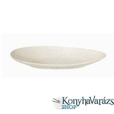 ASA-CREMA ker. ovál tányér 24,6cm
