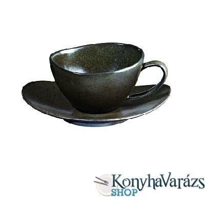 ASA-MARRONE ker.kávés csésze+alj16cl LOS