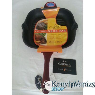RUBY önt.vas grillsütő 28 cm