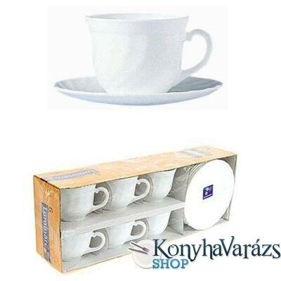 OPÁL csésze 28 cl  teás készlet  4 db