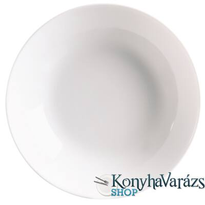 DIWALI FEHÉR tányér mély 20 cm