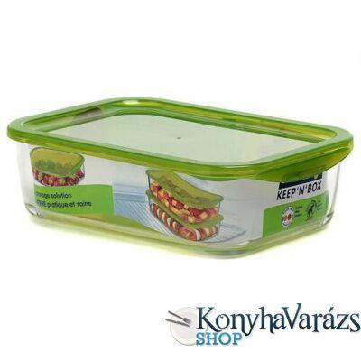 KEEP'N'BOX tégl. doboz 17x23cm 189cl zöld