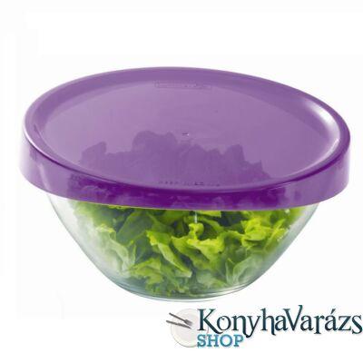 KEEP'N'BOX salátástál+fedő 17 cm 1 l LILA