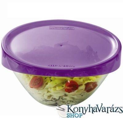 KEEP'N'BOX salátástál+fedő 23 cm 1,7 l LILA