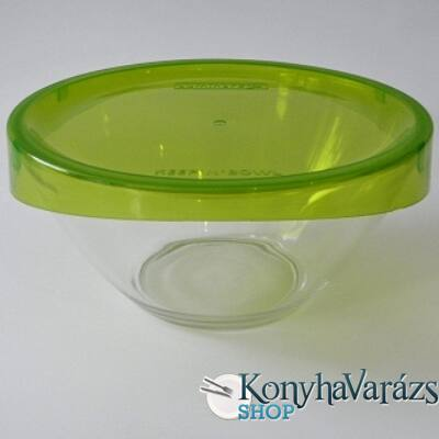 KEEP'N'BOX salátástál+fedő 17 cm 1 l zöld