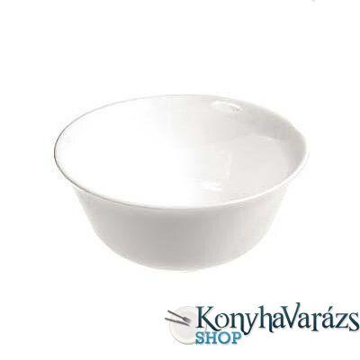 CARINE fehér salátás tálka 12 cm LOSE