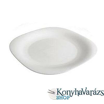CARINE fehér tányér lapos 26 cm LOSE