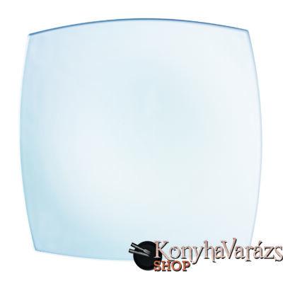 QUADRATO fehér tányér lapos 26,5 cm