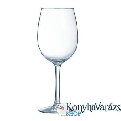 VINA boros pohár 36 cl 6 db m:202 mm