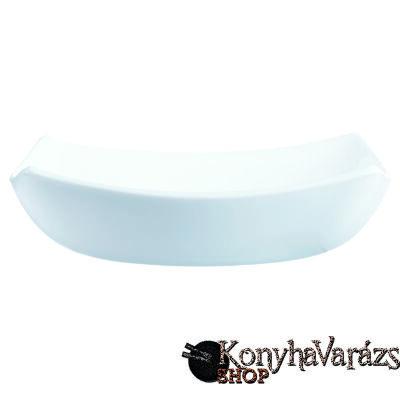 QUADRATO fehér tányér mély 20 cm